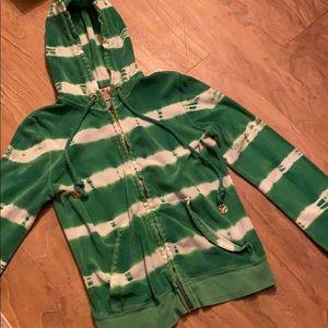 Juicy couture tie dye hoodie!
